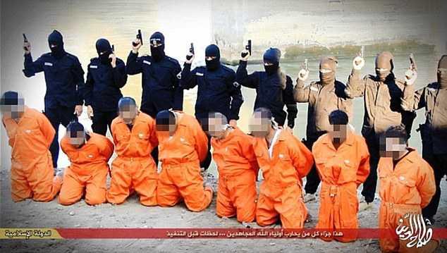 Con trai của Basil Ramadan có mặt trong số 8 người bị IS hành quyết tại Tikrit, Iraq tháng 1 vừa qua