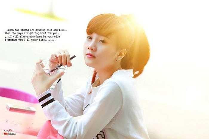 Cô bạn sinh năm 1993 đến từ Rạch Giá, Kiên Giang này là cộng tác viên trong chương trình Idol CCtalk - phần mềm giao tiếp trực tiếp bằng giọng nói, hát, đang hút giới trẻ.