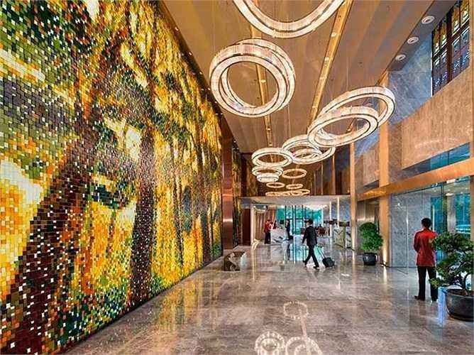 Khách sạn Mandarin Oriental Pudong, Thượng Hải, Trung Quốc. Giá phòng từ 391 USD/đêm