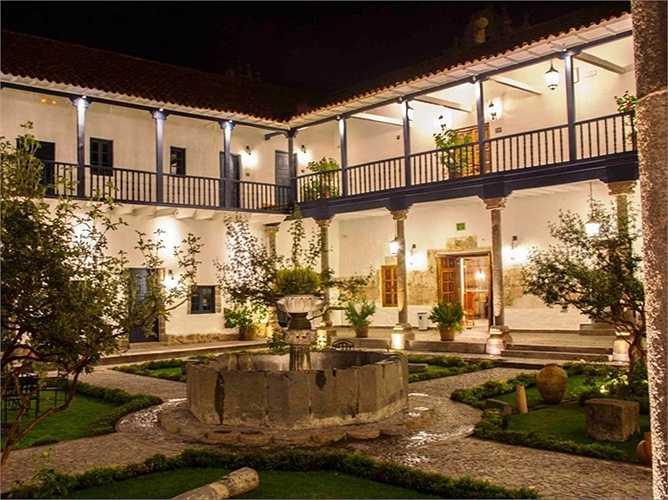Khách sạn Belmond Palacio Nazarenas thuộc Cusco, Peru. Giá phòng từ 595 USD/đêm