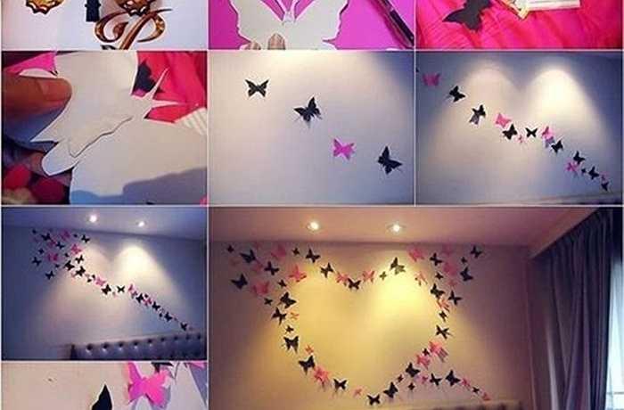 Thay bộ trải giường mới: Việc thay bộ ga trải giường ngày Valentine là một ý tưởng tuyệt vời để tạo ấn tượng với nửa kia của bạn trong dịp lễ tình nhân 14/2. Ngoài ra, bạn cũng có thể dùng các họa tiết nhỏ như cánh bướm để trang trí tường phòng ngủ lãng mạn hơn