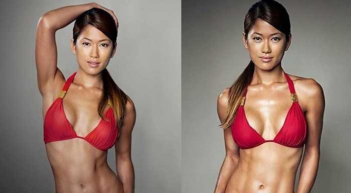 Cô thường xuyên xuất hiện trong các cuộc thi thể hình của Liên đoàn thể hình quốc tế  IFBB