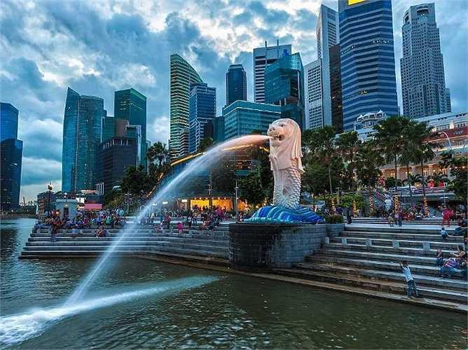 2. Singapore: 22,4 triệu lượt khách quốc tế