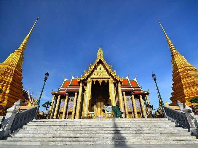 3. Bangkok: 17,4 triệu lượt khách quốc tế