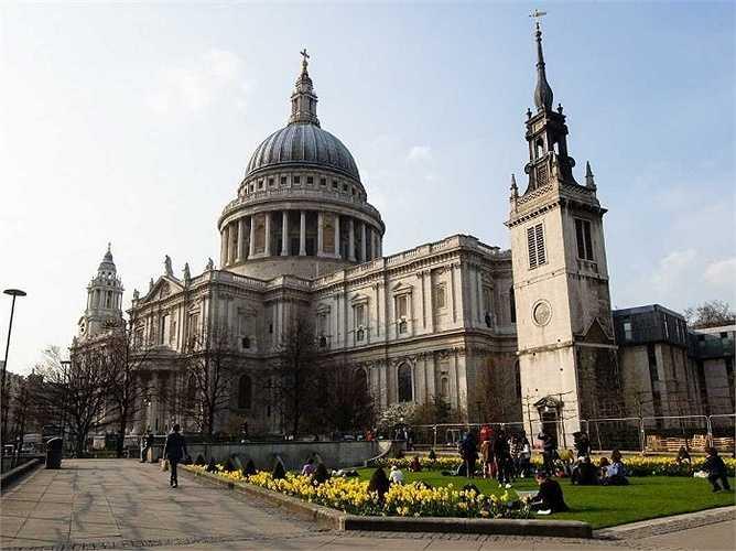 4. London: 16,7 triệu lượt khách quốc tế