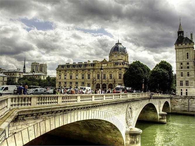 5. Paris: 15,2 triệu lượt khách quốc tế