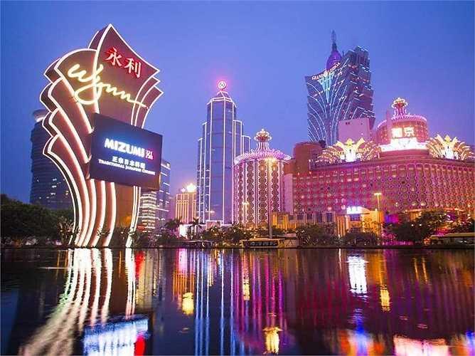 6. Macao: 14,2 triệu lượt khách quốc tế