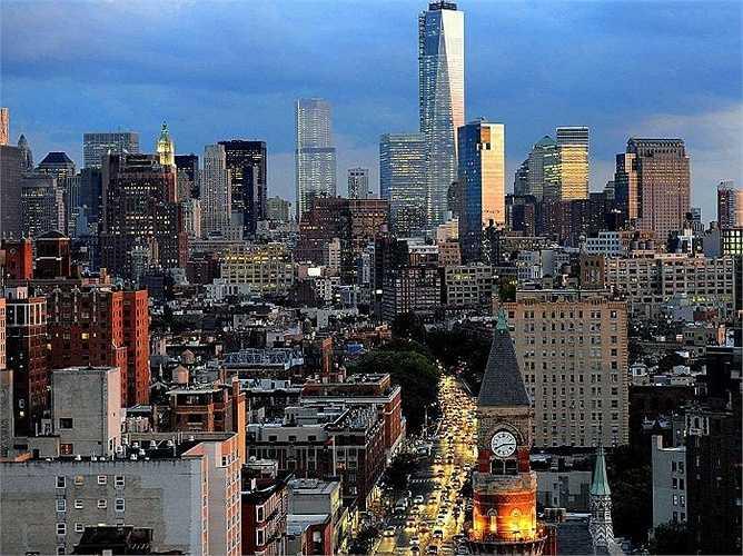 7. New York: 11,8 triệu lượt khách quốc tế