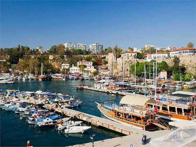 10. Antalya, Thổ Nhĩ Kỳ: 11,1 triệu lượt khách quốc tế