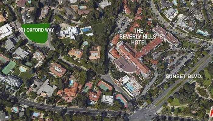 Ngôi nhà nằm trên khu vực đồi Beverly sang trọng