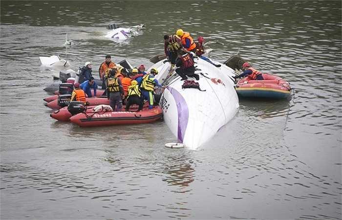 Vụ tai nạn xảy ra sáng 4/2 tại Đài Loan
