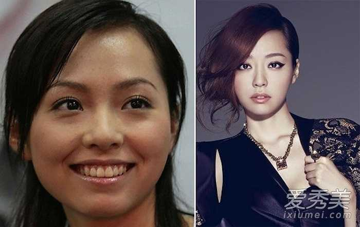 Hình ảnh đời thực và chụp thời trang của một người đẹp Trung Quốc khác nhau 'một trời một vực'