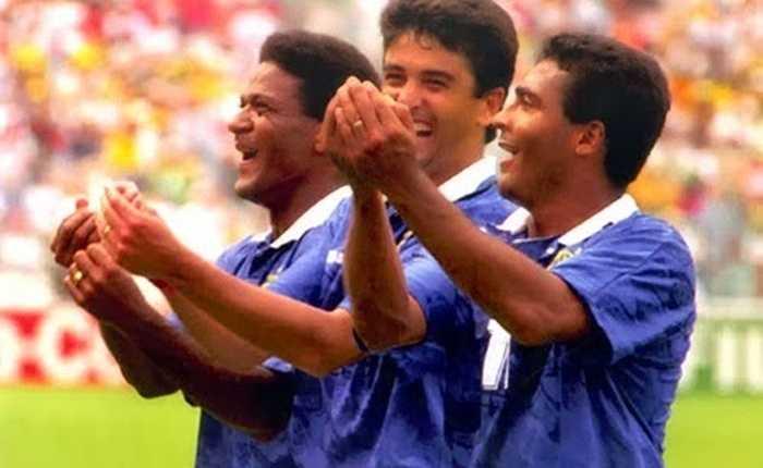 Vũ điệu ru con nổi tiếng của Bebeto tại World Cup 1994