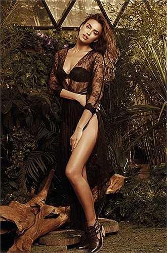 Irina vừa cho ra mắt bộ ảnh cùng hãng thời trang XTI