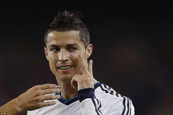 Ronaldo ghi trong 6 trận El Clasico liên tiếp với Barca