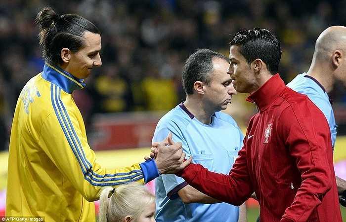 Ronaldo gặp Ibra ở vòng play-off World Cup 2014