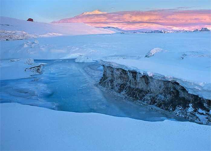 Băng đá ở vùng biển Nam Cực