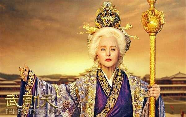 Hình ảnh Võ Tắc Thiên 82 tuổi của Phạm Băng Băng có sự góp sức của chuyên gia hóa trang đến từ Hollywood.