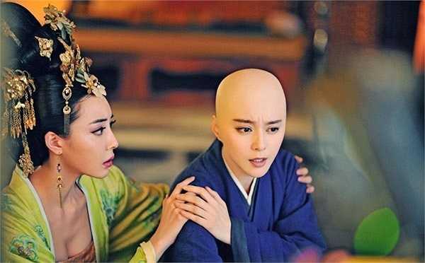 Tạo hình ni cô của Phạm Băng Băng đã gây tranh cãi vì quá hoàn mỹ.