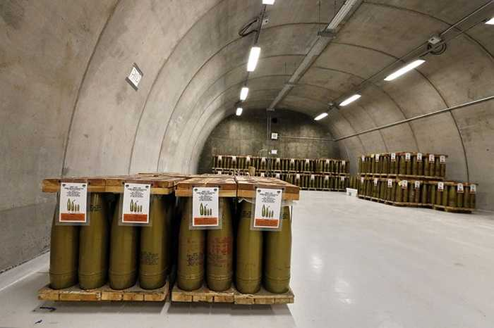 Có đến 780.000 vỏ đạn hóa học sẽ được tháo dỡ trong căn hầm này