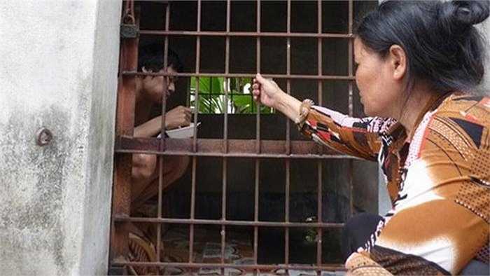Ở Việt Nam cũng có nhiều trường hợp phải nhốt con trong lồng vì bệnh tâm thần như gia đình chị Nguyễn Thị Thuân (Kiến An, Hải Phòng) có hai người con là đều bị tâm thần.