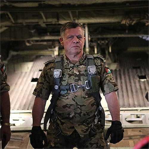 Vua Abdullah II của Jordan từng là tư lệnh chỉ huy lực lượng đặc biệt của Jordan