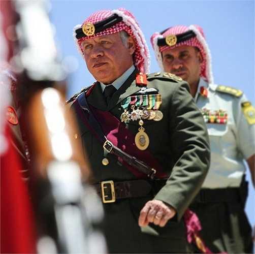 Năm 1993 ông trở thành tư lệnh của lực lượng đặc biệt Jordan