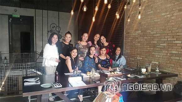 Mới đây, một loạt hình ảnh của Hà Tăng đi ăn trưa với bạn bè được tiết lộ gây chú ý mạnh mẽ với công chúng