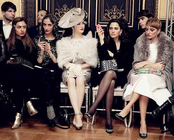 2013, Lý Nhã Kỳ xuất hiện trong buổi trình diễn của thương hiệu Alexis Babille được tổ chức trong một khách sạn sang trọng.
