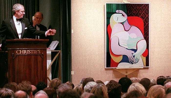 155 triệu USD là số tiền mà Steve Cohen bỏ ra dành cho bức họa của Picasso trong hình