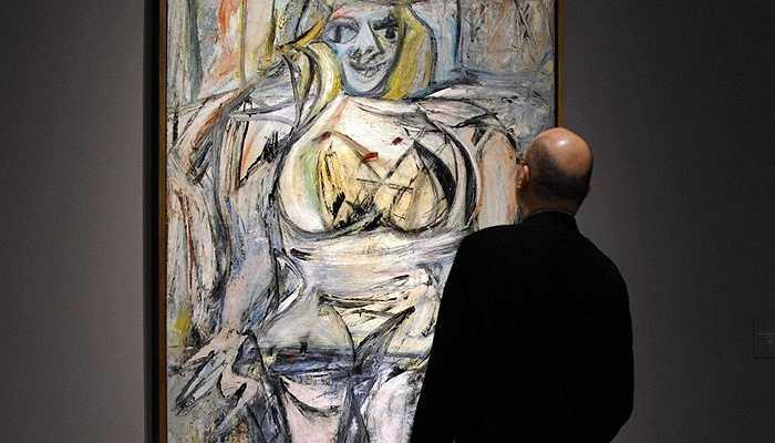 Tương tự, bức họa của Willem de Kooning được ông mua với giá hơn 13 triệu USD.
