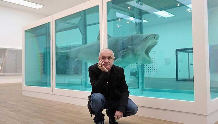 Xác con cá mập dài hơn 4m này được bảo quản với chất Formandehyde được mua với giá 8 triệu USD