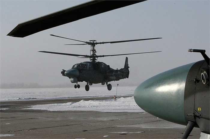 Trực thăng thể hiện khả năng bay thấp tránh radar