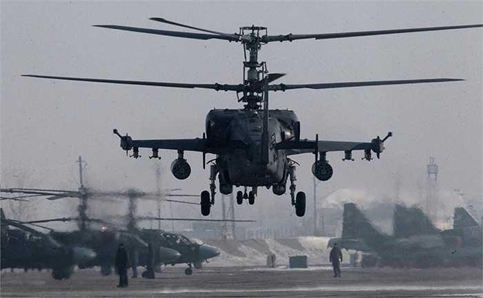 Loại trực thăng này bắt đầu phục vụ quân đội Nga vào năm 2011