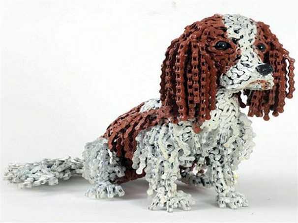 Đa phần những chú chó tái chế có kích thước tương đương những chú chó thực.
