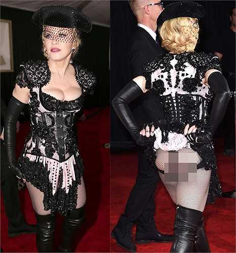 Bộ trang phục của Madonna không xấu nhưng lại là bộ đồ kỳ quặc nhất nhì lễ trao giải năm nay