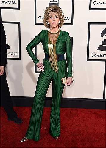 Jane Fonda lòe loẹt và lỗi mốt