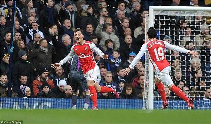 Trái với nhiều dự đoán, HLV Mauricio Pocchetino quyết định không điền tên 'Vua derby' Adebayor cho trận đấu với đội bóng cũ Arsenal. Ông tiếp tục trao cơ hội cho các ngôi sao trẻ như Eriksen, Lamela và Kane. Phía đối diện, HLV Arsene Wenger không ngần ngại tung ra đội hình thiên về tấn công với sự xuất hiện của các cầu thủ như Welbeck, Giroud hay Oezil và Cazorla.