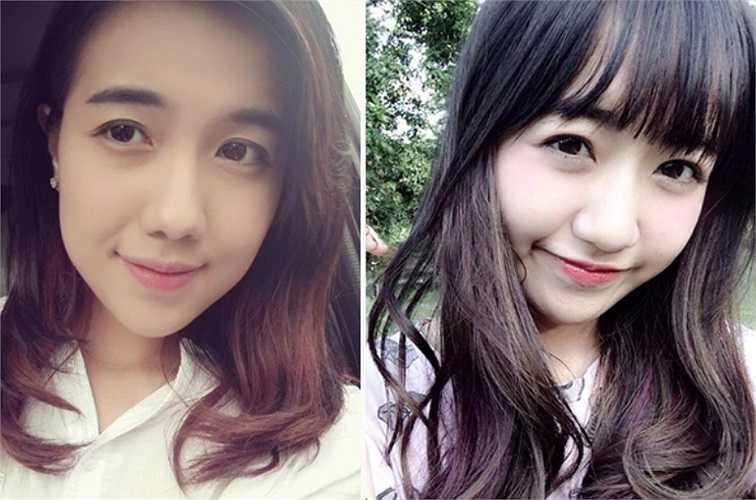 Cô bạn Vũ Phương Anh khiến nhiều người nghĩ là chị em ruột của hot girl Mie Nguyễn vì có rất nhiều điểm chung. Cả hai có chiếc mũi giống nhau, khuôn mặt bầu bĩnh, nhất là đôi mắt to tròn và hàng lông mày đen đậm đặc trưng.