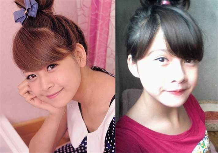 Cô bạn Khánh Huyền sinh năm 1998, ở Yên Bái sở hữu nhiều đường nét 'như hai giọt nước' với Chi Pu. Từ đôi mắt to tròn với bọng mắt bên dưới đến chiếc mũi cao của Khánh Huyền đều rất giống với hot girl đình đám.