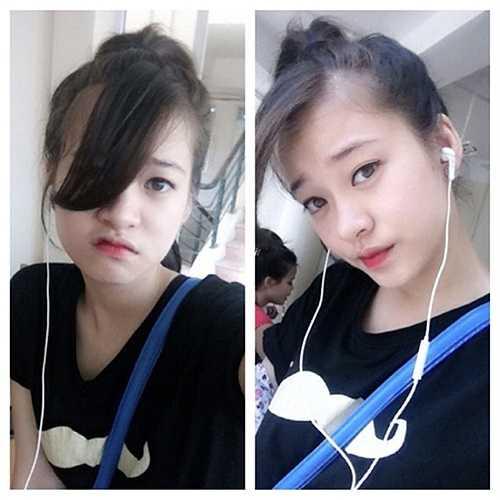 Mai Anh cũng đang là mẫu teen rất được yêu thích ở Hà Nội.