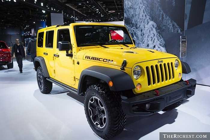 Sự quan tâm lớn của người dân Mỹ đối với dòng Jeep Cherokee và Jeep Wrangler đời mới đã giúp cho hãng xe Jeep của Mỹ có tên trong danh sách này.
