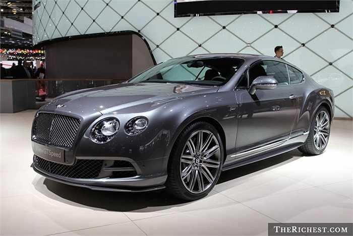 Thiết kế sang trọng, trang bị động cơ W12 mạnh mẽ và kiểu dáng đẹp mắt là những điểm đáng nói nhất về mẫu xe mới - Bentley Continental GT Speed