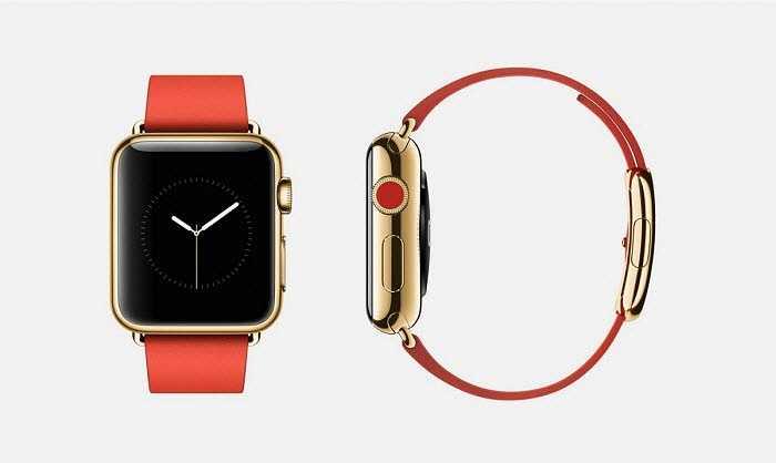 Tương tự phiên bản trước, phiên bản này có dây đeo màu đỏ.