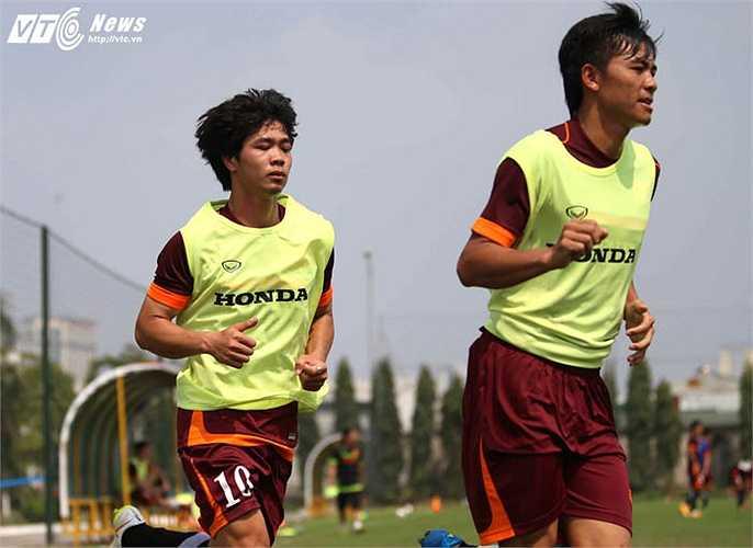 Công Phượng nhiều khả năng sẽ được trả về đá tiền đạo ở U23 Việt Nam (Ảnh: Quang Minh)