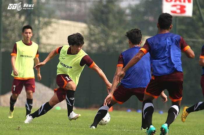 Nếu U23 Việt Nam thiếu nhân sự ở tuyến tiền vệ, Phượng cũng có thể là giải pháp tình thế không tồi (Ảnh: Quang Minh)