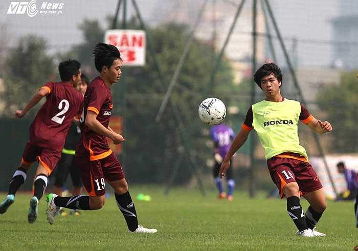 Cuộc chiến ở U23 Việt Nam công bằng và quyết liệt(Ảnh: Quang Minh)