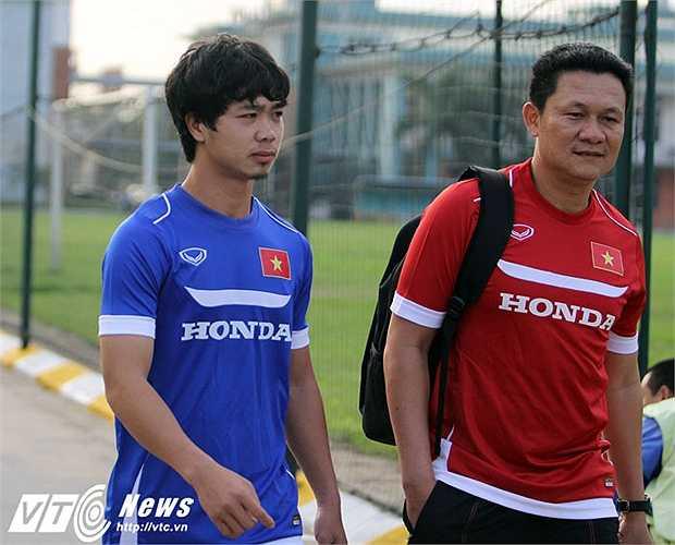 Việc được triệu tập lên U23 Việt Nam là thành công trong sự nghiệp của Công Phượng (Ảnh: Hà Thành)