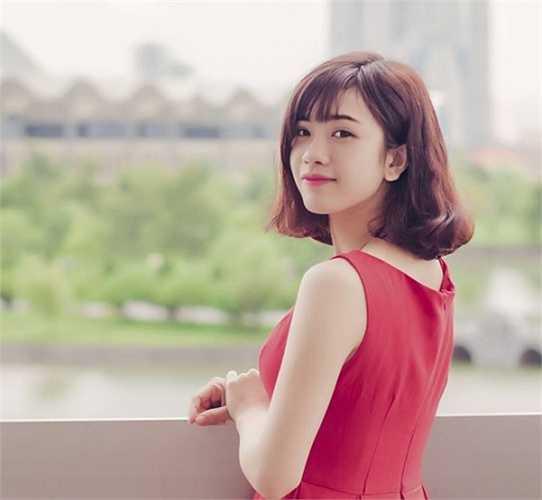 Hot girl khoa Kiến trúc công trình, ĐH Kiến Trúc xinh đẹp như diễn viên Hàn Quốc.