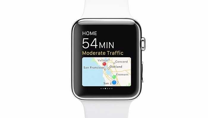 Ứng dụng bản đồ 'Maps' có thể được sử dụng trên Apple Watch